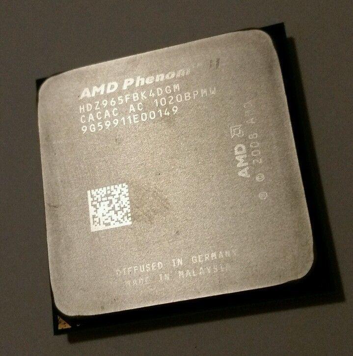 Amd Phenom Ii X4 965 3 4 Ghz Quad Core Hdz965fbk4dgm Black Edition Processor Amd Cards Against Humanity