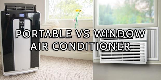 Portable Air Conditioner Vs Window Ac Home Goods Decor Window
