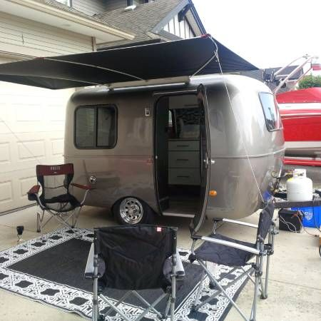 Boler Rental On Craigslist 400 A Week Want To Replicate Interior Glamping Trailer Vintage Campers Trailers Scamp Camper