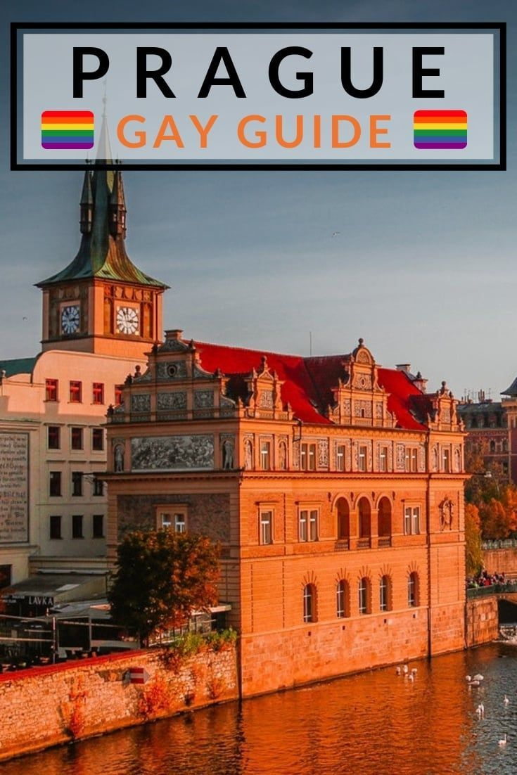 prague map Gay
