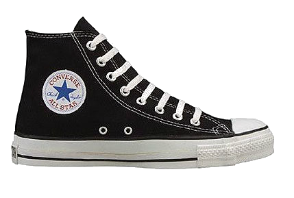 aparato espiritual saltar  BOTA CONVERSE PNG | Black canvas shoes, Sneakers fashion, Converse