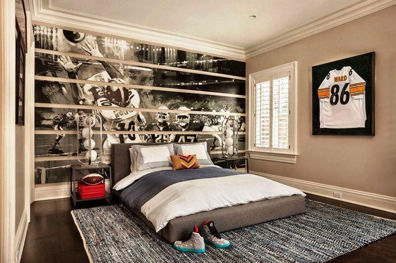 Desain interior kamar tidur anak remaja laki also dekorasi rh in pinterest