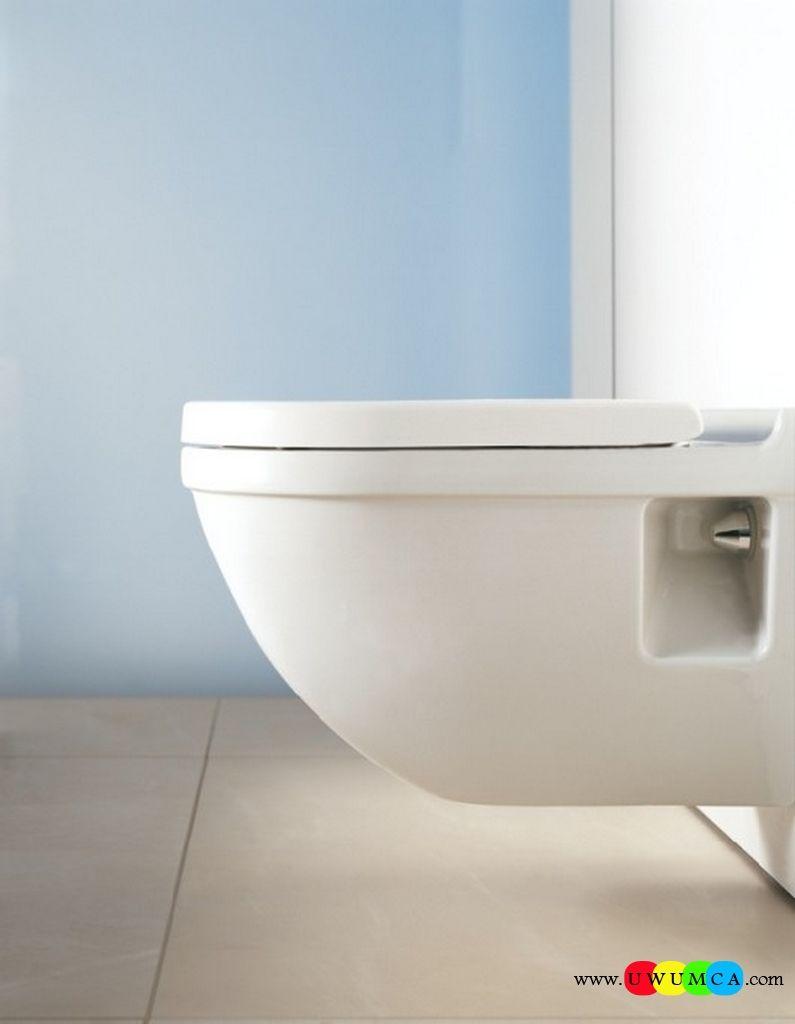 Bathroom:Duravit Starck 3 Wall Hung Toilet Profile Wall Hung ...