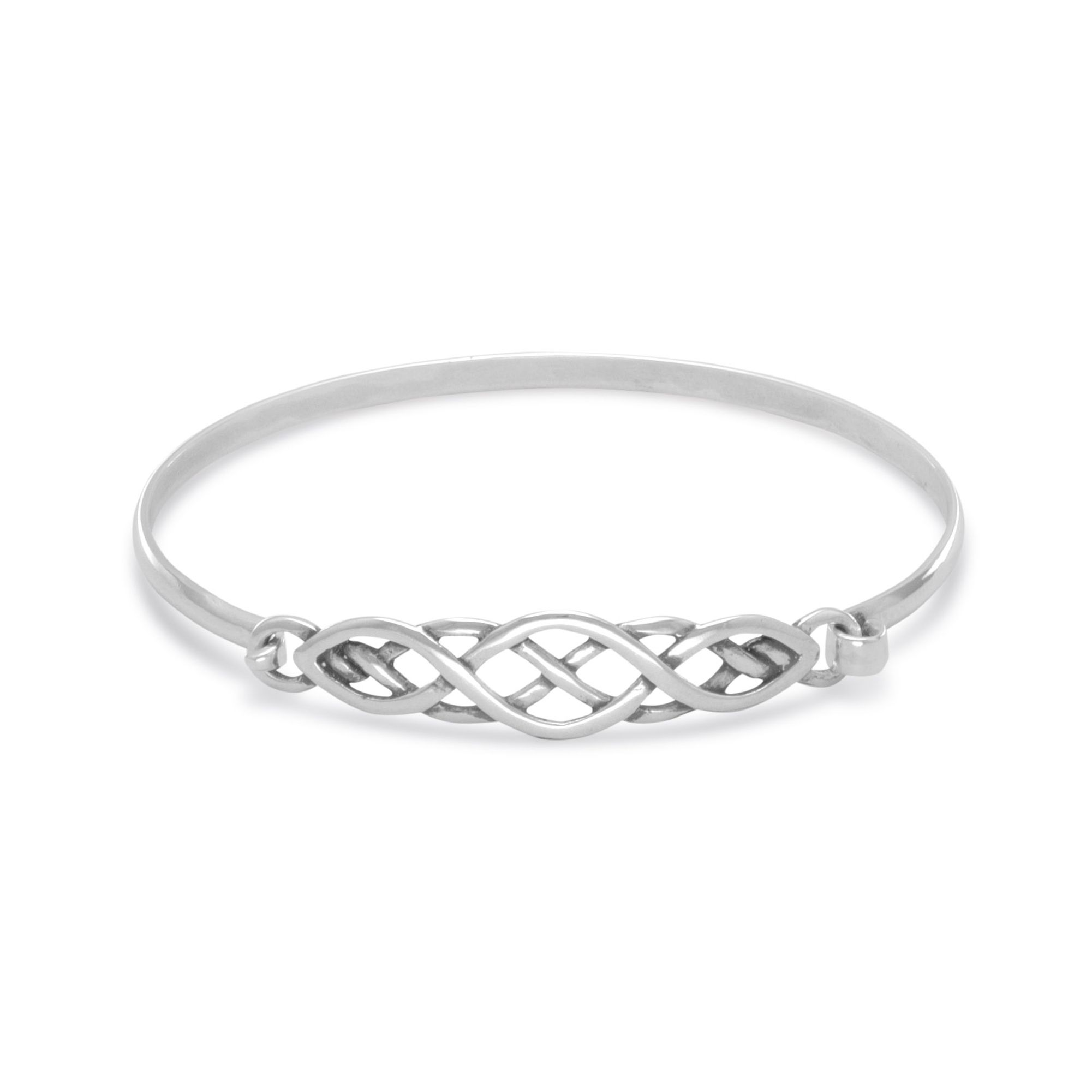 product clef bracelet silver plain products sterling bangle bracelets details bangles melody pb treble aeravida musical