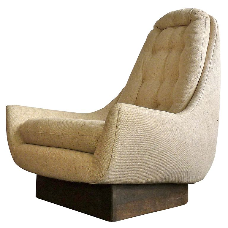 Exceptionnel High Back Swivel Lounge Chair