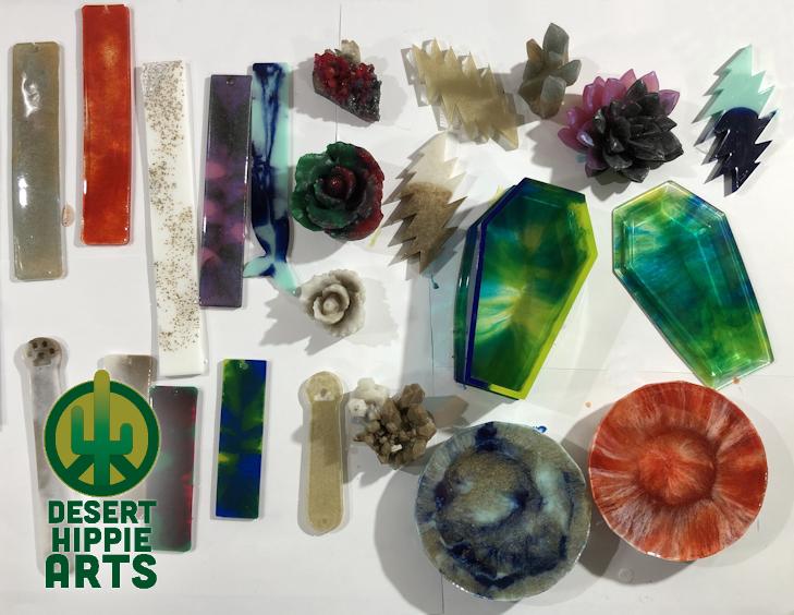 Desert Hippie Arts Resin Coloring In 2020 Hippie Art Resin Art Coloring Resin
