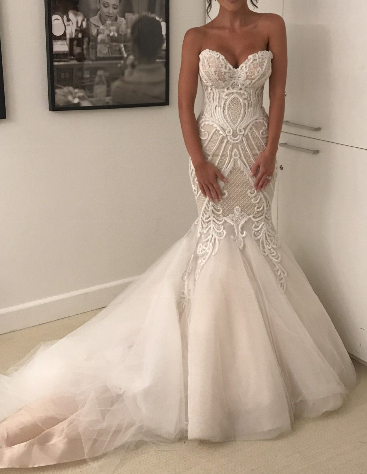 03ebd10c793c2 Norma And Lili Bridal Couture Aleks Makra Wedding Dress on Sale