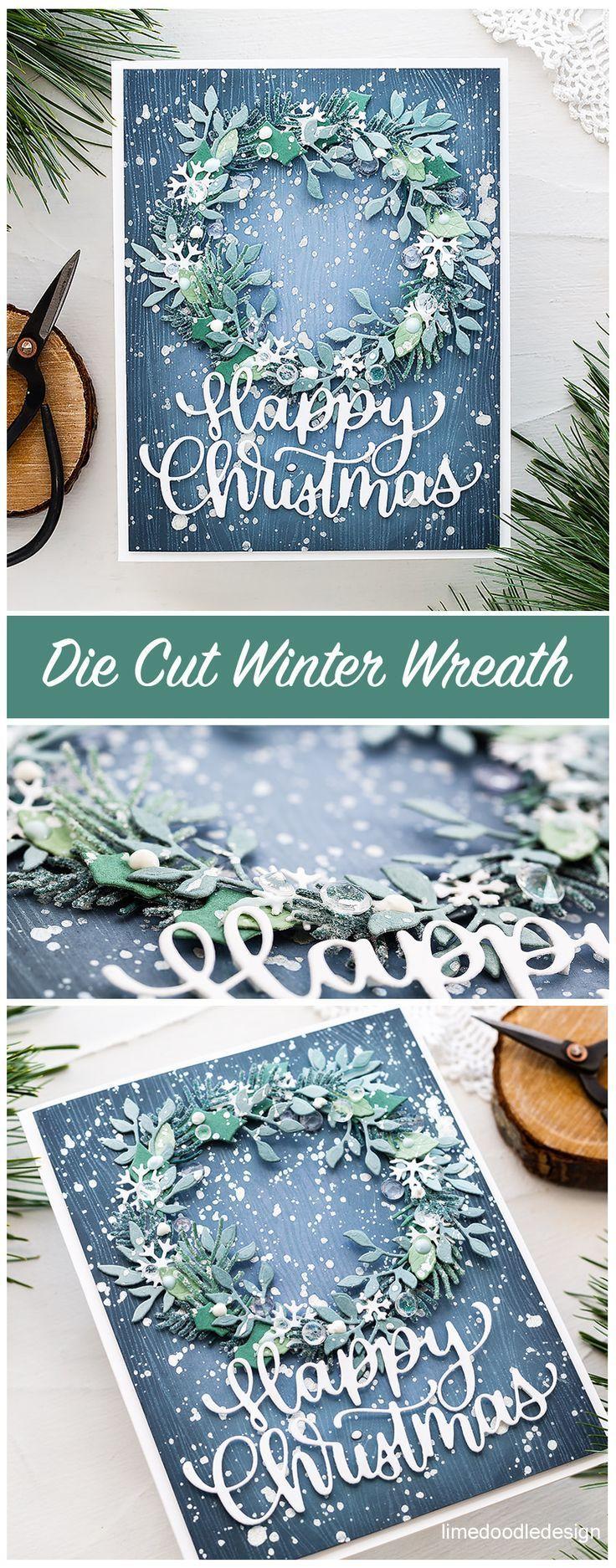 Video – Die Cut Winter Wreath