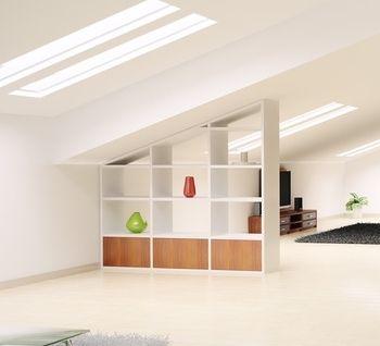 am nager un espace de rangement sous une pente pinterest rangement sous pente espace de. Black Bedroom Furniture Sets. Home Design Ideas