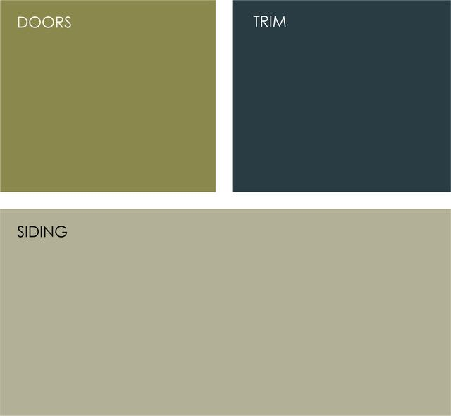 Exterior paint possible color scheme sherwin williams for Dark green paint colors