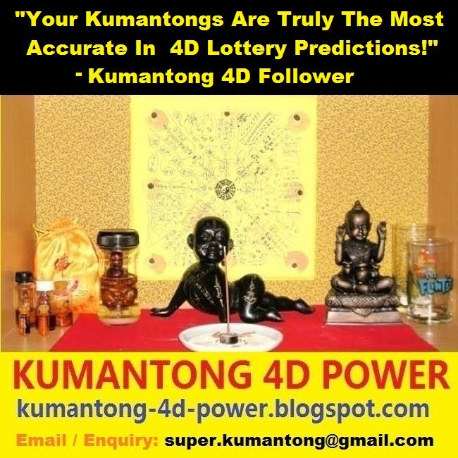 Your Kumantongs are truly the most accurate in 4D Lottery