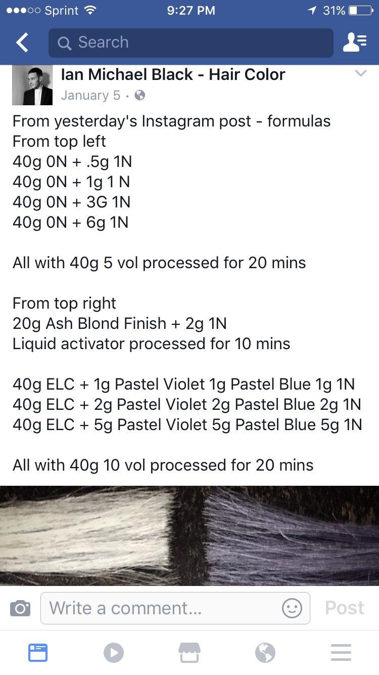 Aveda Gray Formulas Aveda Hair Color Hair Color Hair Color Formulas