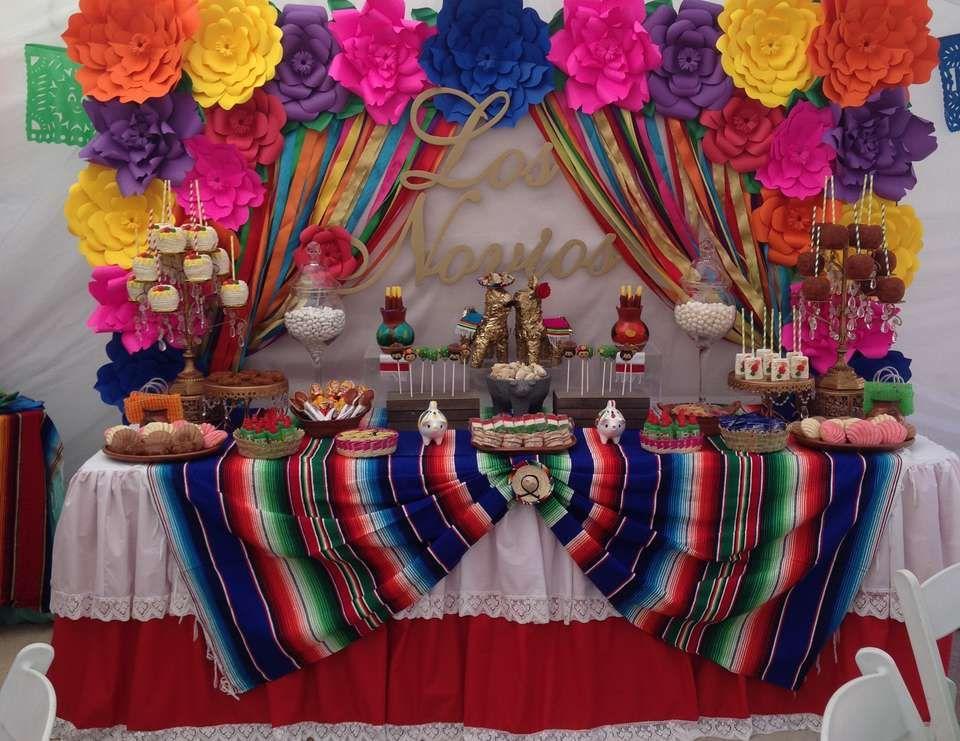Fiesta Mexican Bridal Wedding Shower Quot Los Novios
