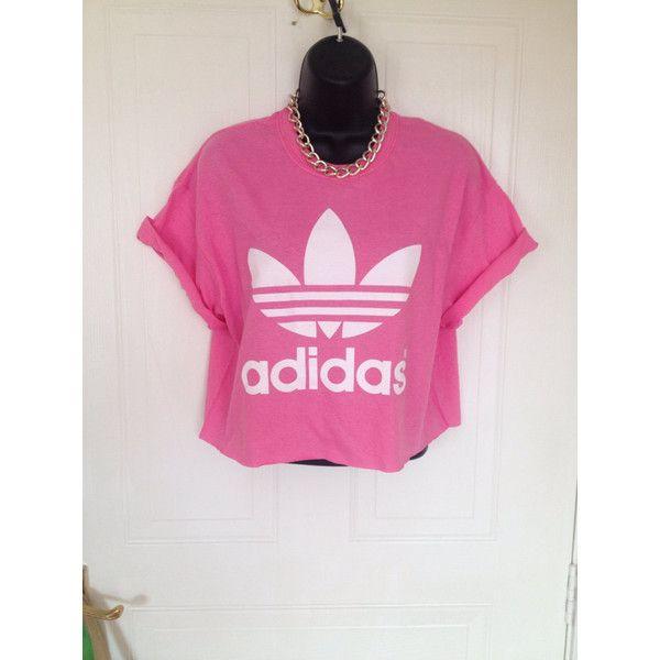 d58f177e637 Unisex Customised Adidas Acid Wash Tie Dye Cropped T Shirt Festival... ( 19