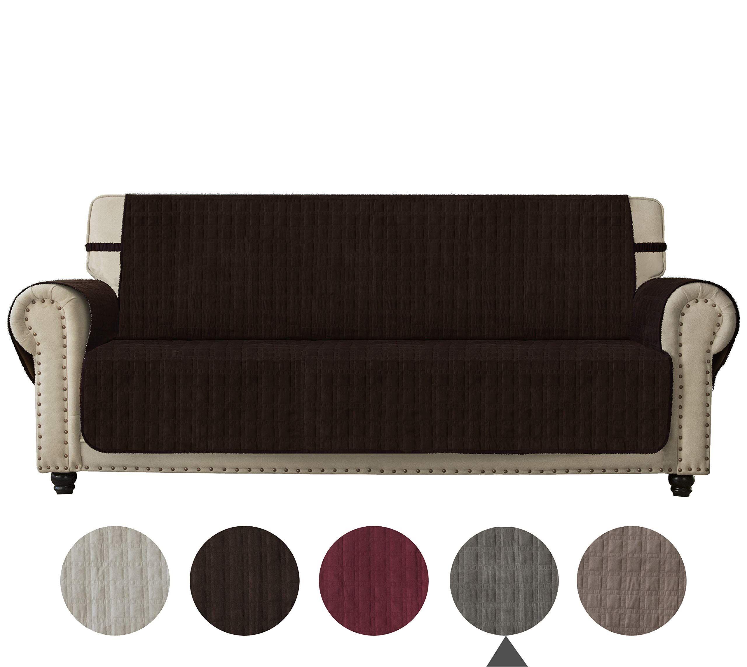 Ameritex Sofa Cover Slip Resistant Sofa Slipcover Protector