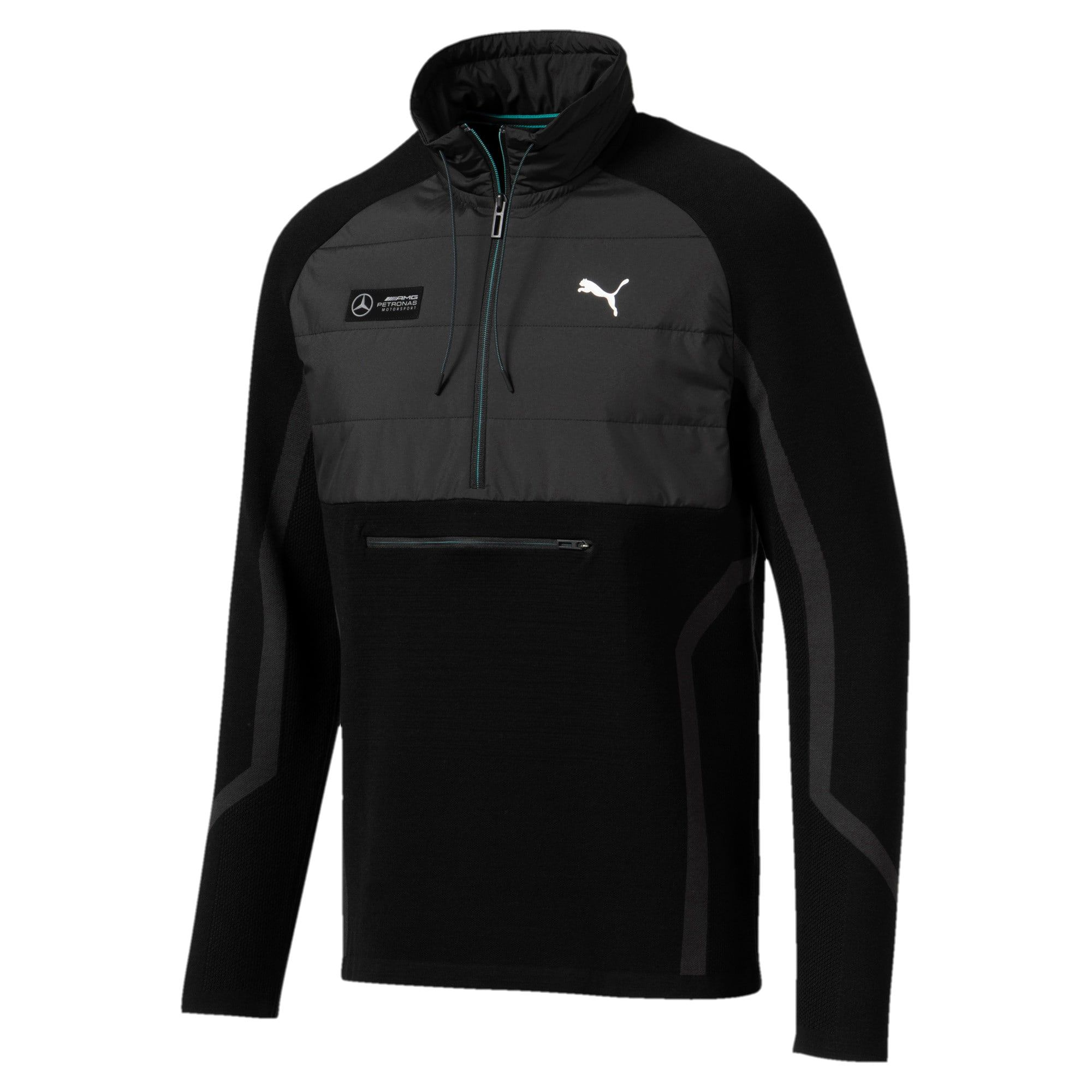 Mercedes AMG Petronas RCT evoKNIT Knitted Men's Sweater | PUMA Mercedes AMG Petronas | PUMA United Kingdom #mercedesamg