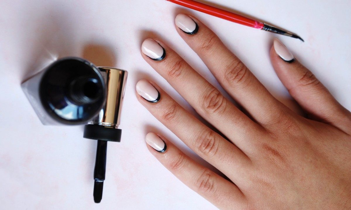 An Easy Way To Make Your Gel Manicure Look Incredibly Chic While ...