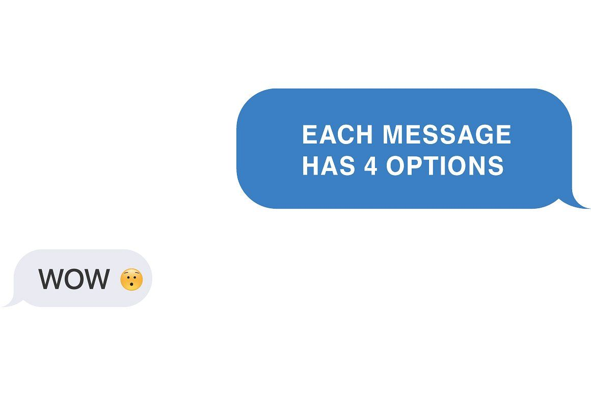 Message text messages text words