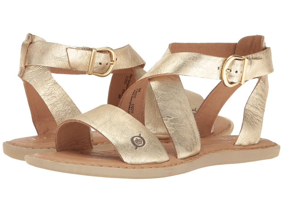 808d6ad9f38a Born Niel Women s Shoes Light Gold Metallic