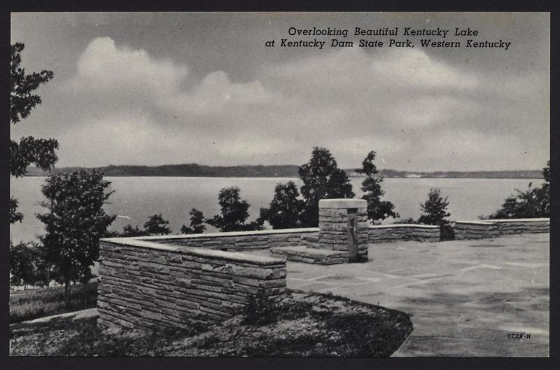 Kentucky dam overlook calvert city county seat kentucky
