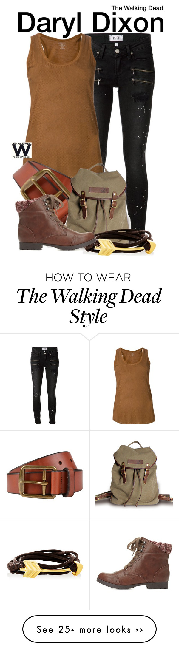 """""""The Walking Dead"""" by wearwhatyouwatch on Polyvore"""