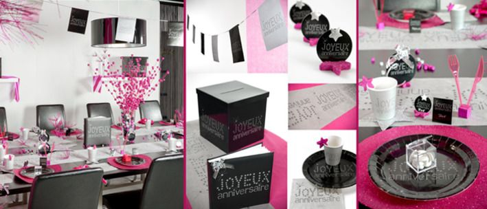 chic et color anniversaire anniversaire color et chic. Black Bedroom Furniture Sets. Home Design Ideas