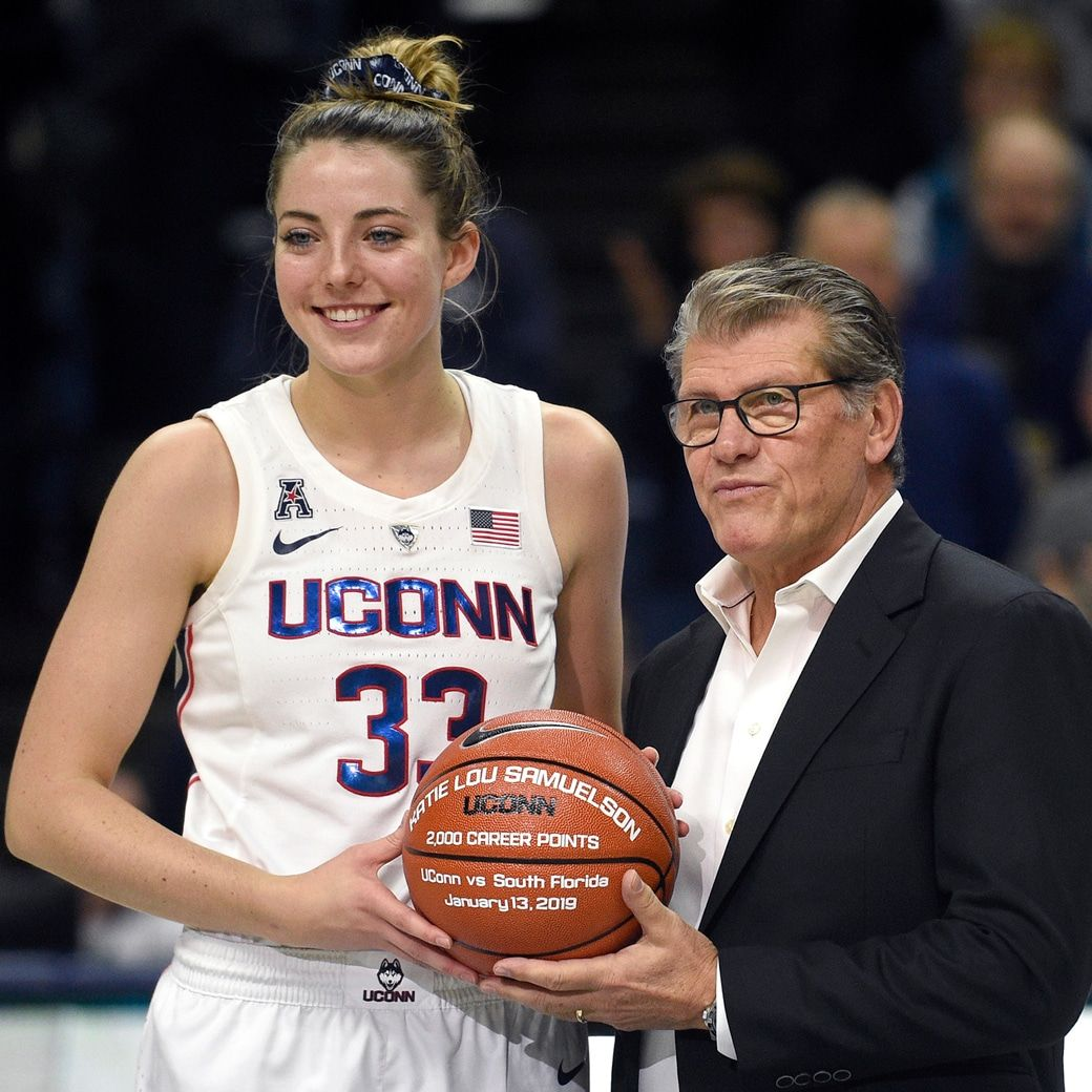 Uconn Star Katie Lou Samuelson Is The Definition Of A Hooper Uconn Uconn Womens Basketball Basketball Girls