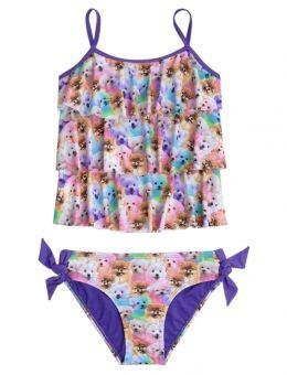 Puppy Tankini Swimsuit Swimsuit Shops Girls Swimsuit