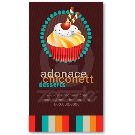 Elegant bakery business card cake biz pinterest bakery elegant bakery business card reheart Images