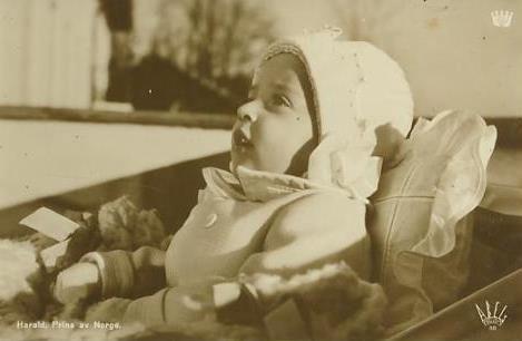 Prinz Harald von Norwegen, heute König Harald V. von Norwegen
