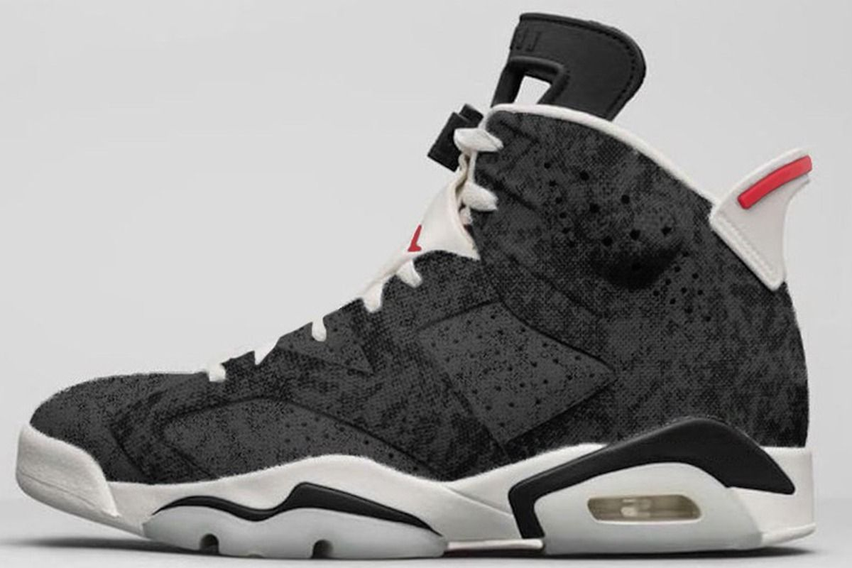 "f17389d8eef3bb Air Jordan 6 ""Black Washed Denim"" to Release in Late 2019 - EUKICKS"
