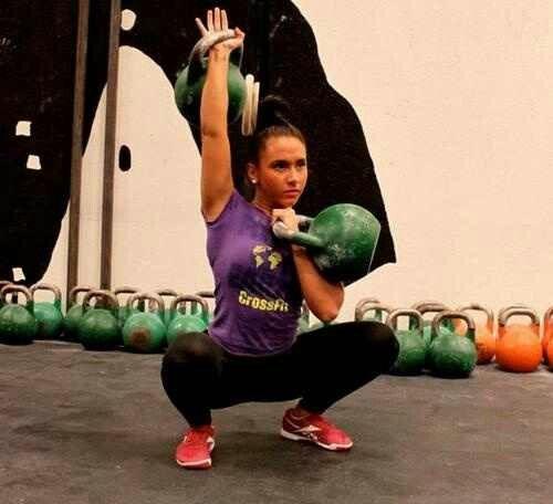 Kettlebell Training For Athletes: Suzanne Svanevik Crossfit- KB