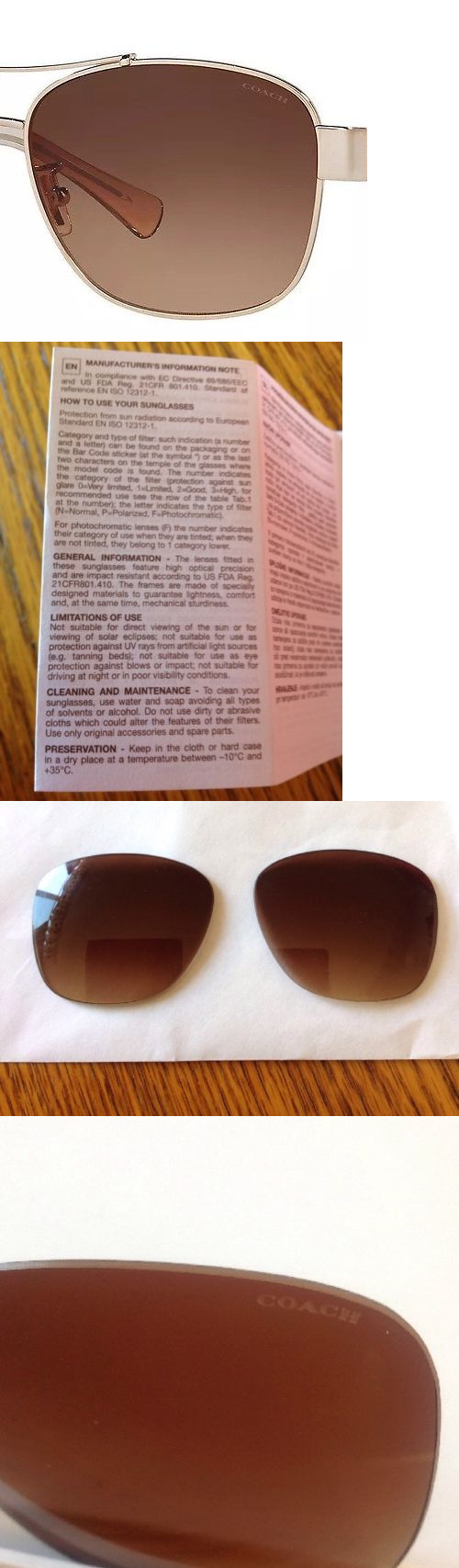 752a6a4a93 czech sunglass lens replacements 179196 lenses coach sunglasses hc7064 7064  hc70 lens color brown gradient no