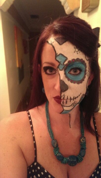 My Halloween makeup 2013