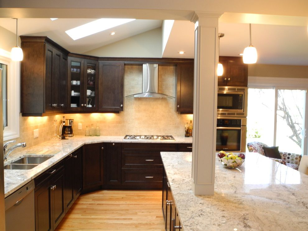 Galaxy White Granite Countertop Installation Project In Clifton