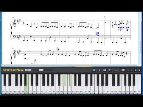 Free Before He Cheats - Carrie Underwood Piano Sheet Music Tutorial ...
