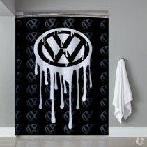 Custom VW Volkswagen Bloody Logo Shower Curtain  #Home&Living #Bathroom #ShowerCurtains&Living #ShowerCurtains #Teenroomdecor #Dormdecor #TeenShowercurtain #Girlshowercurtain #Dormdecorideas #Decor #Fashiondecor #Fashion #Gift #Shower #Curtain #Curtains #Friend #Custom #Volkswagen #VW #Logo #Bloody #Melt #Car #Classic