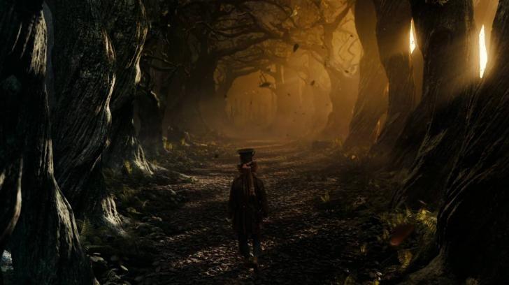 Alice In Wonderland Tim Burton Mad Hatter Spooky Forest Art Alice In Wonderland Background Alice In Wonderland Hat Alice In Wonderland