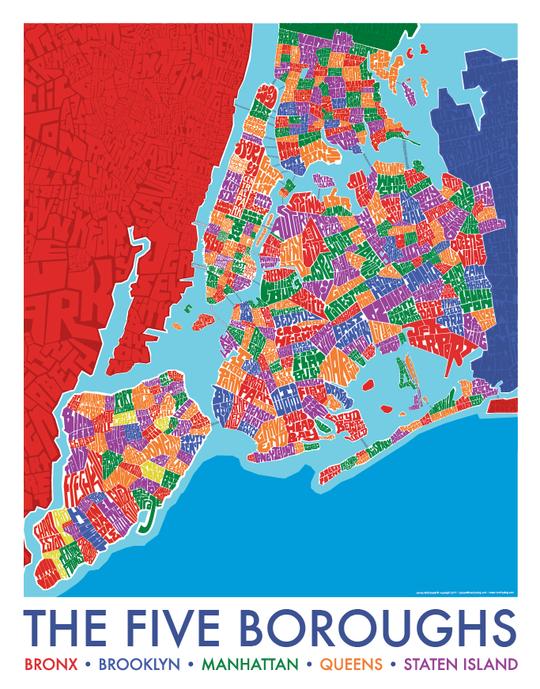 Nassau County Town Type Map Nassau County Nassau Map Print
