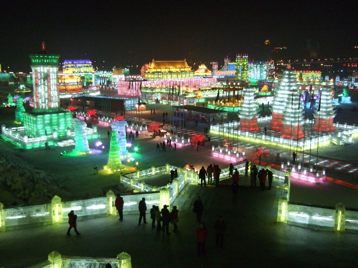 Cold and Beautiful - The Ce and Snow Festival in Harbin.   #china #travel #festivals #holidays #adventure #winter