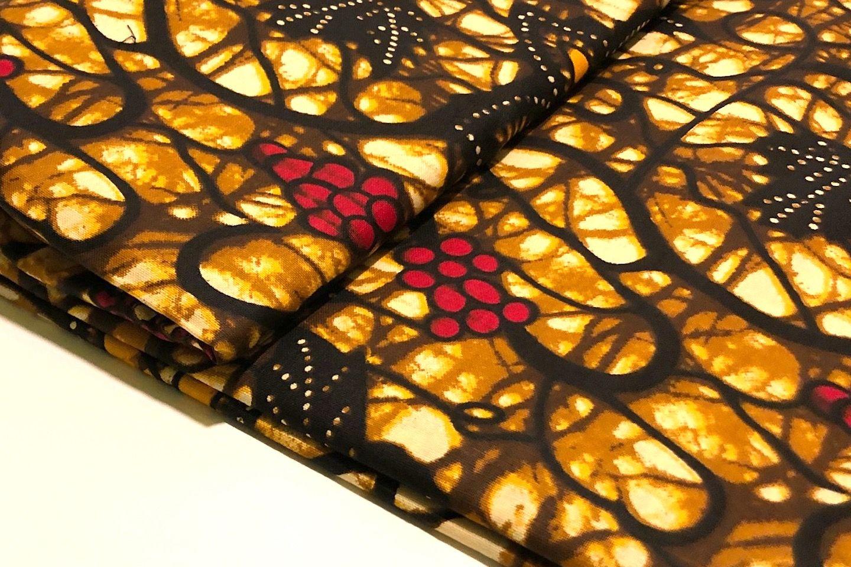 Afrikanischer Wax Print Stoff Nahen Stoffe Handarbeit Design