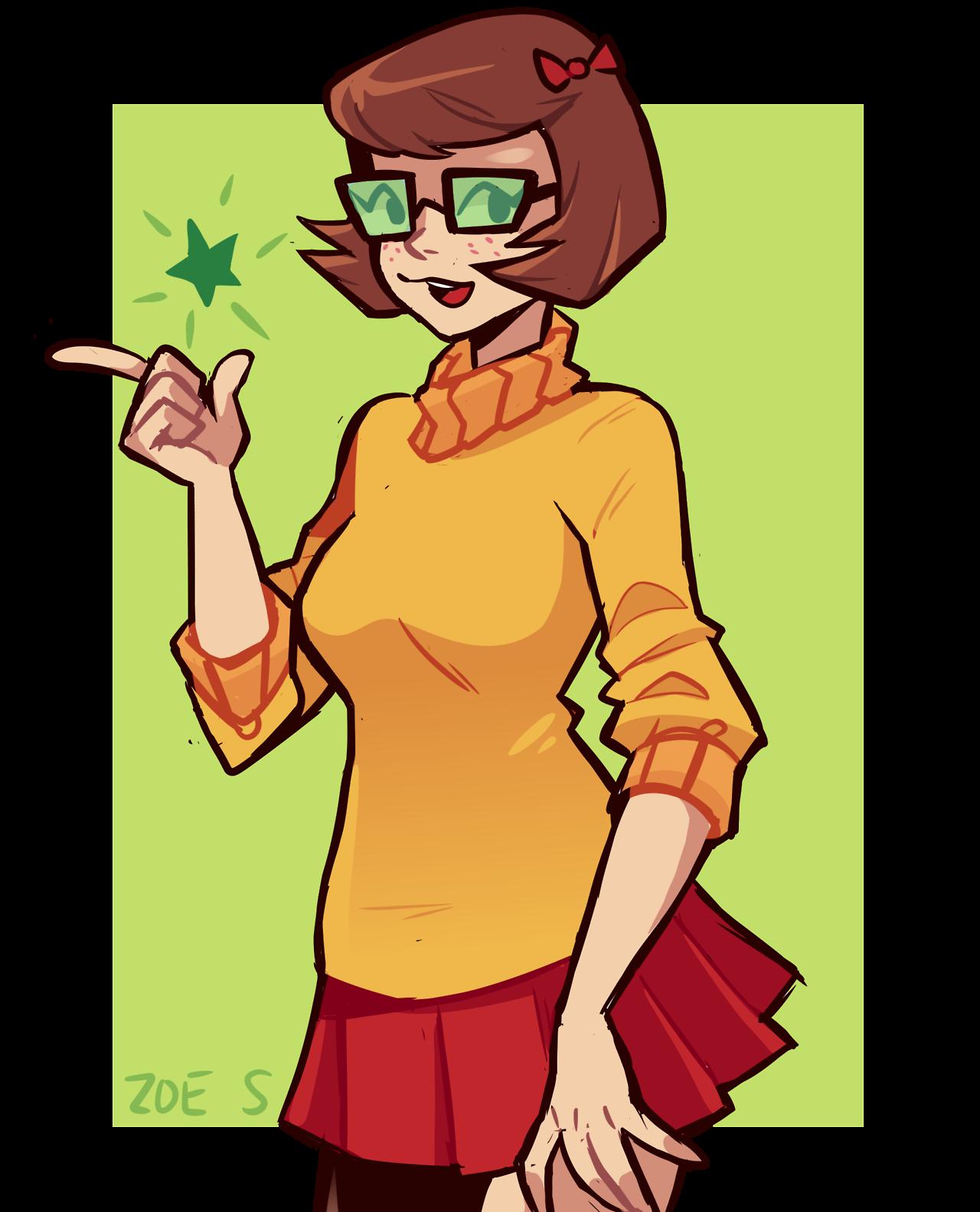 Jinkies Scooby Doo Velma Scooby Doo Art