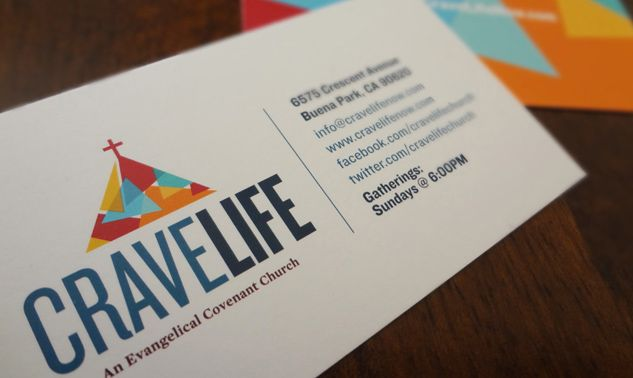 Crave Life Business Card business card design Name Card - name card