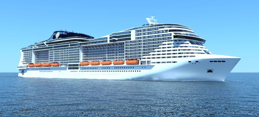 Two Large New 167,600 Ton Class Cruise Ships Coming To MSC