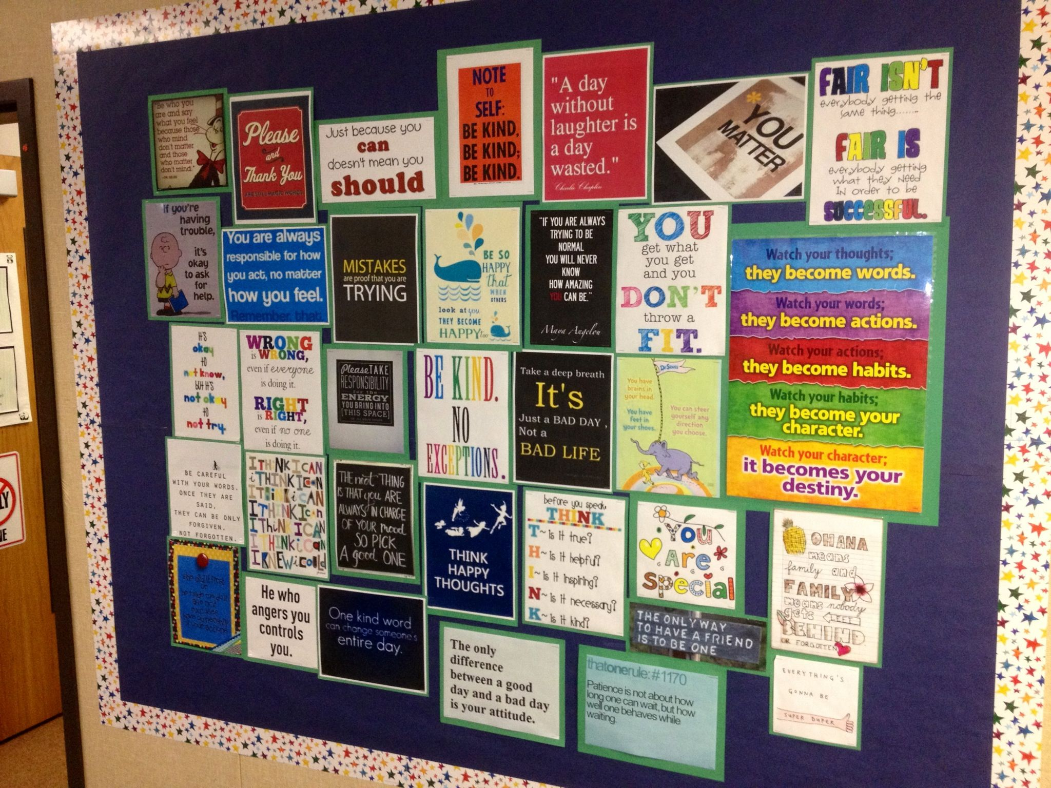I Have Several Small Bulletin Boards. I Could Use Some Of These Ideas.