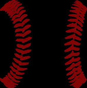 Vector Clip Art Online Royalty Free Public Domain Baseball Crafts Baseball Stitch Reds Baseball