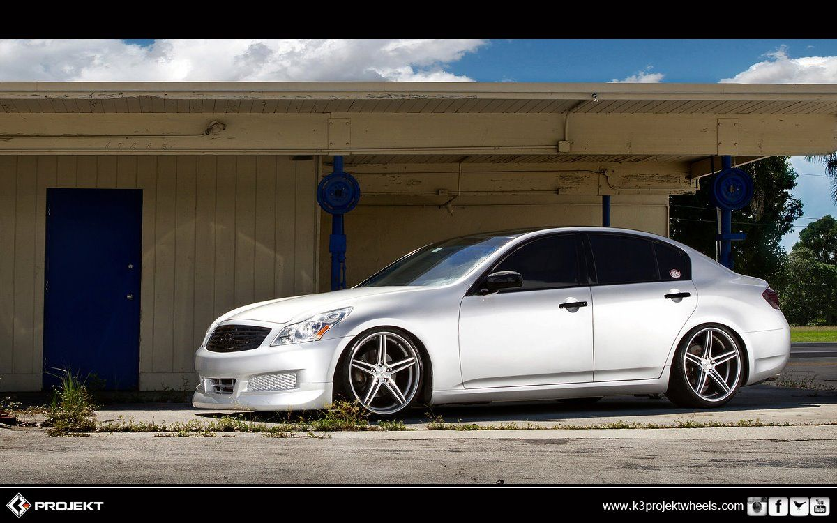 K3 projekt slammed infiniti g37 stitchedproduction infiniti g37 infiniti sedan slammed on projekt wheels vanachro Choice Image