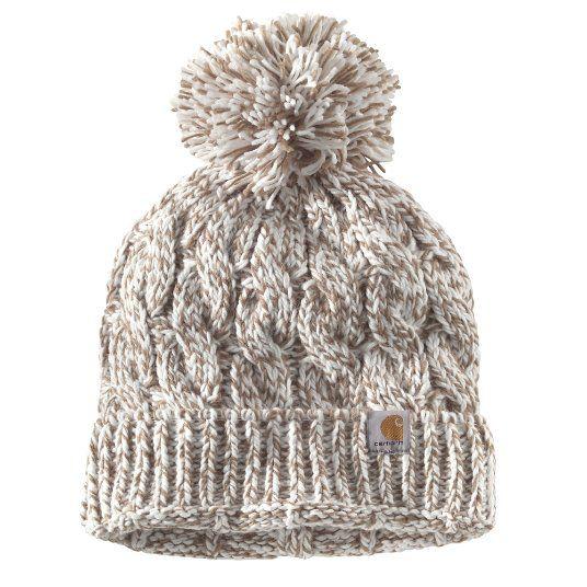 e2938676d37  19.99 Carhartt Women s Marshmallow Marl Casselberry Hat - front ...