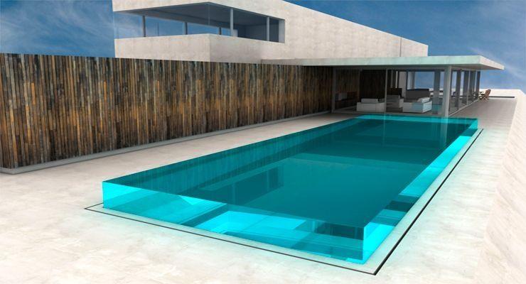 Per la meteixa ra que els aquaris el metacrilat es fa servir per picines de luxe ja que - Cristales para piscinas ...