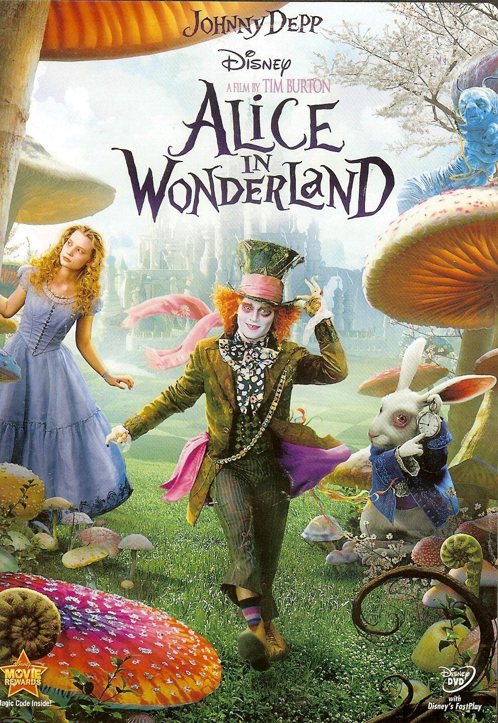 Alice Nos Pais Das Maravilhas Filme Online alice in wonderland (com imagens)  tim burton filmes, filme